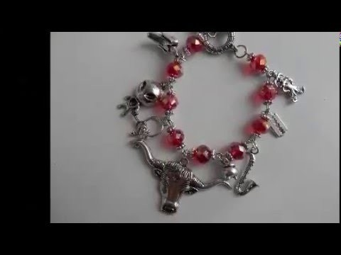 American Horror Story Inspired Charm Bracelet Tutorial DAY 2