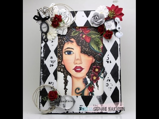 Bloom Girl Home Decor tutorial project