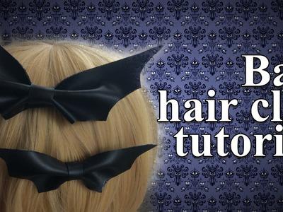 Days Of Halloween: Bat Hair Clip Tutorial