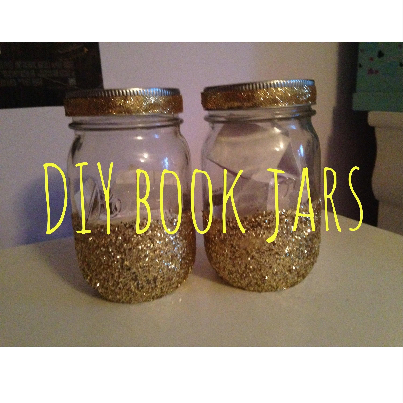 DIY book jars!