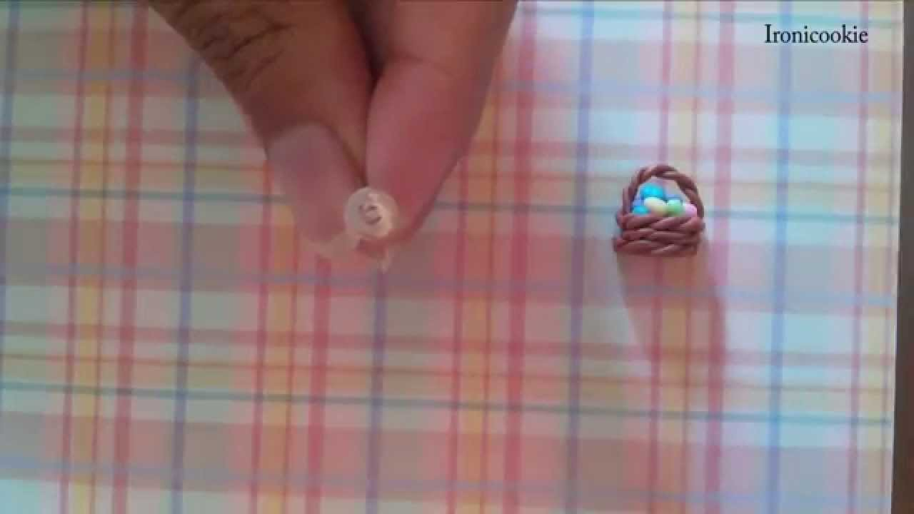 Easter Egg Basket Earrings Tutorial