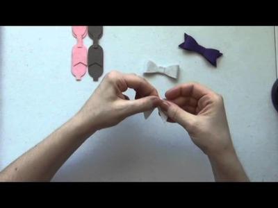 Felt Bow Tutorial - TheFeltShoppe.com