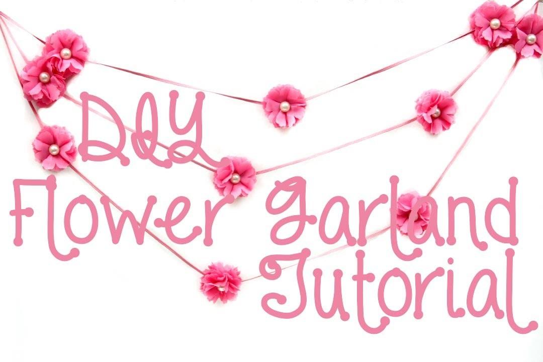 Flower Garland Tutorial
