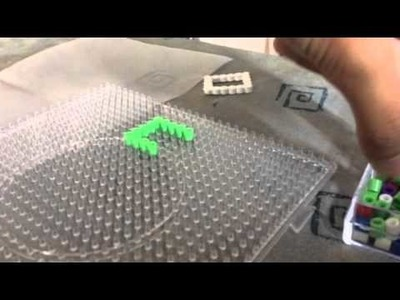 Hama beads tutorial  how to make a picture frame