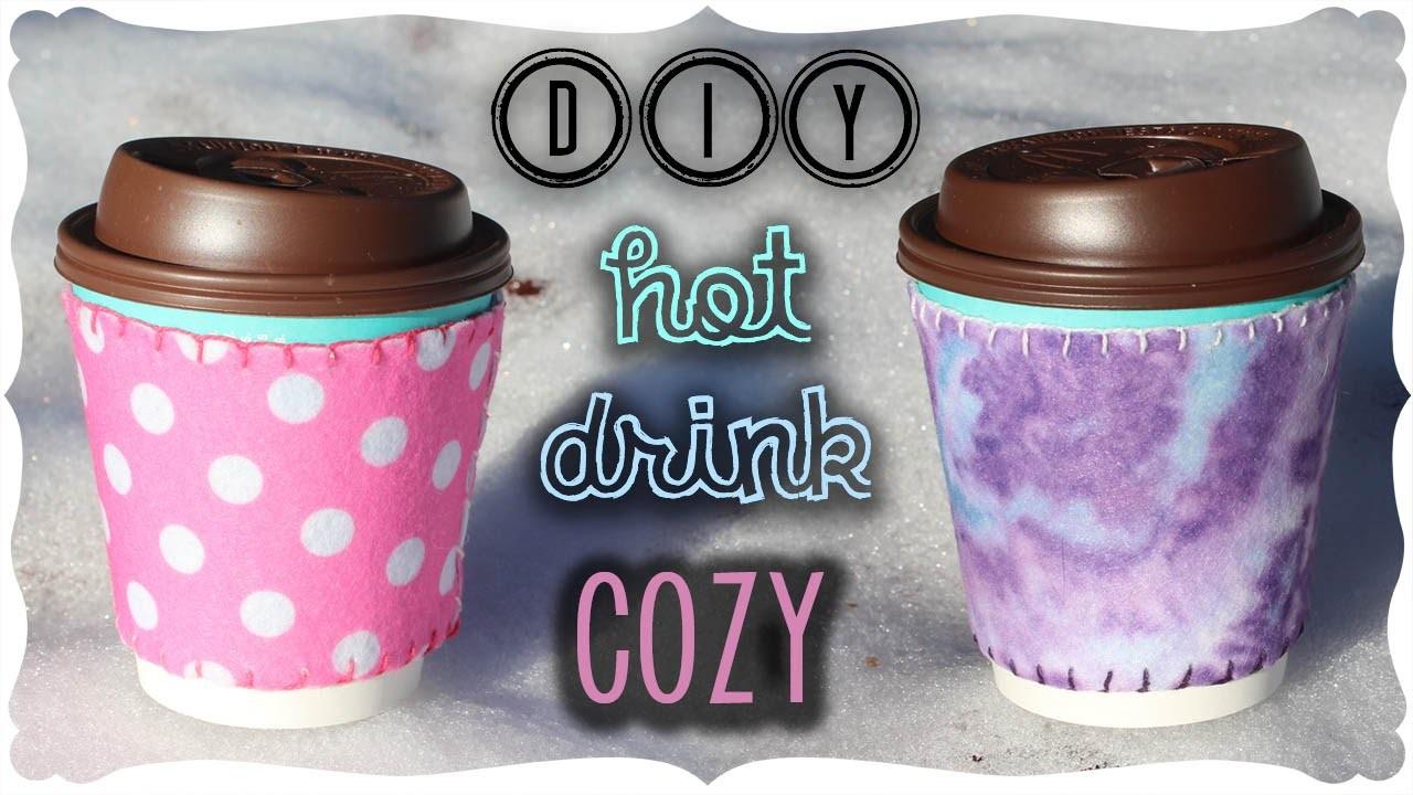 Hot Drink Cozy Tutorial