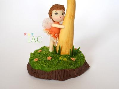 How to make Chibi Mushroom Fairy tutorial   Air Dry Clay
