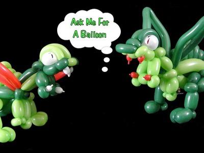 How to Make Dragon Balloon - Balloon Animal Tutorial