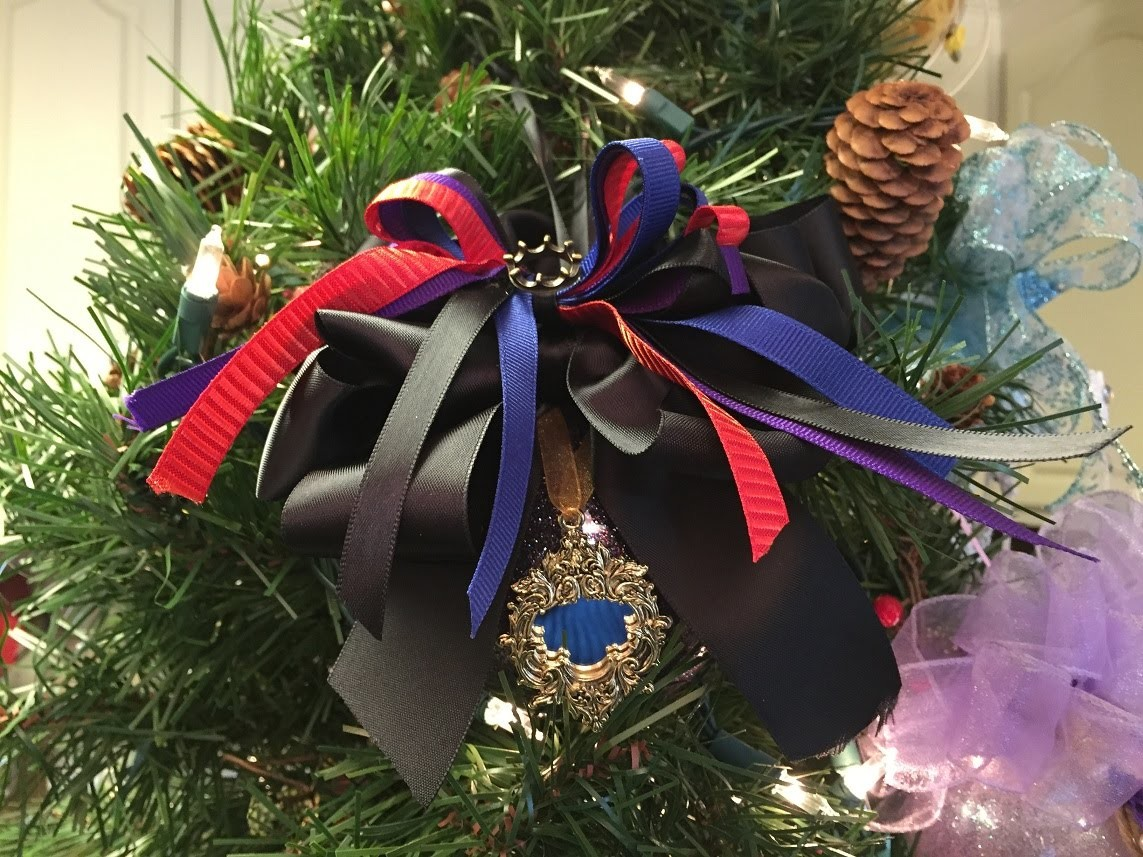 How to make The Evil Queen Christmas Ornament Ball Tutorial