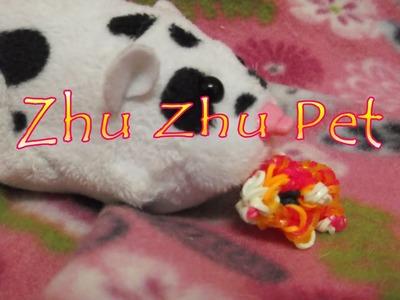 Loom Bands: 3D Zhu Zhu Pets Hamster Tutorial!