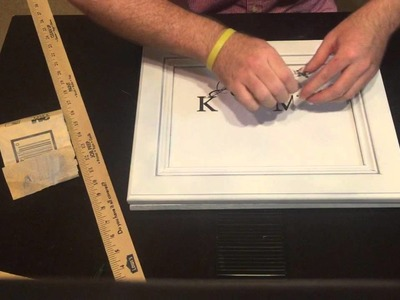 Making a Distressed Sign with PVPP Method Tutorial