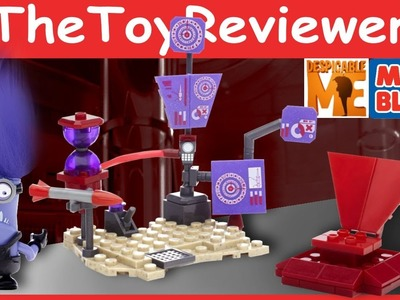 Mega Bloks Despicable Me Minions El Macho's Lab Unboxing Tutorial By TheToyReviewer