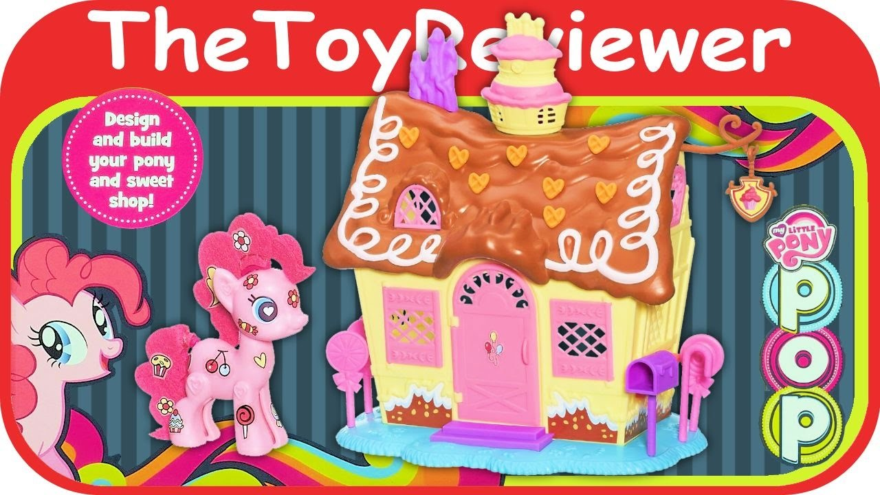 My Little Pony Pop Pinkie Pie Sweet Shoppe Playset Toy Tutorial and Review by TheToyReviewer