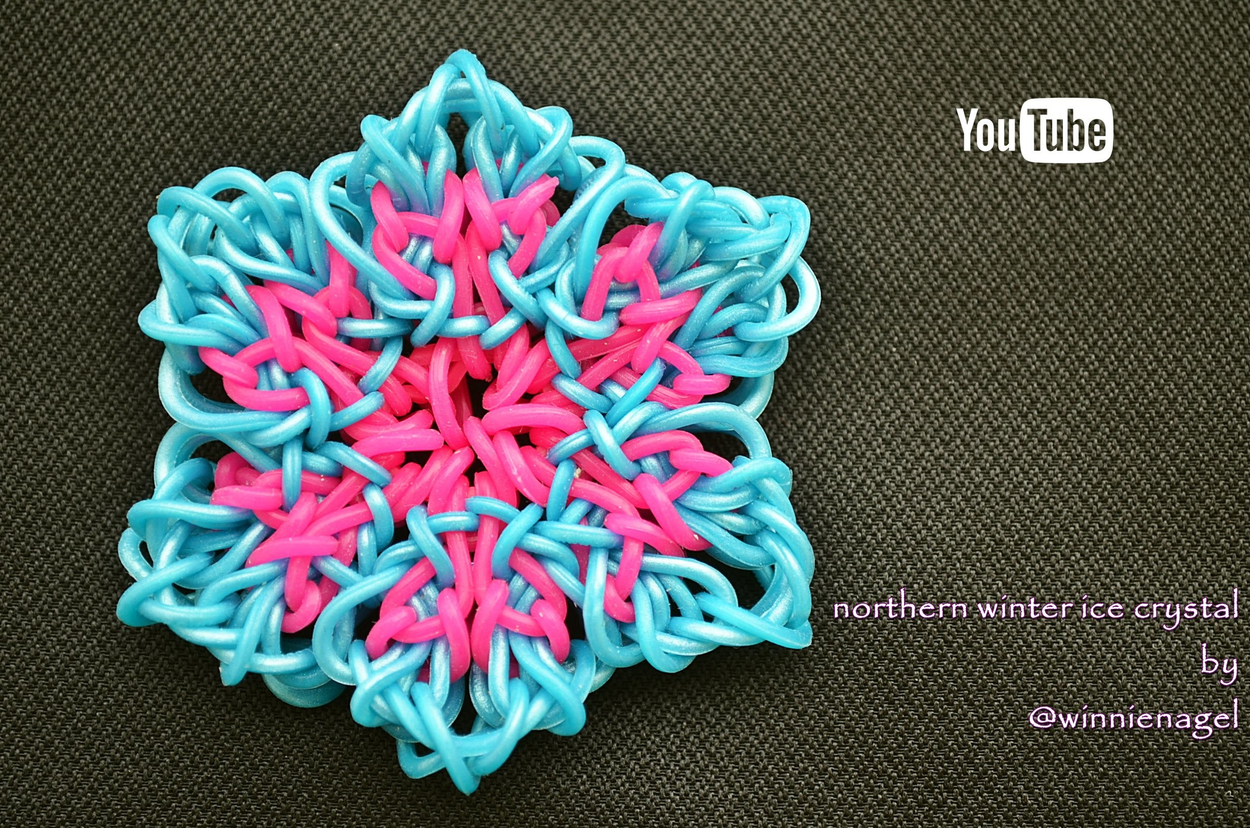 NORTHERN WINTER ICE CRYSTAL HOOK ONLY DESIGN TUTORIAL