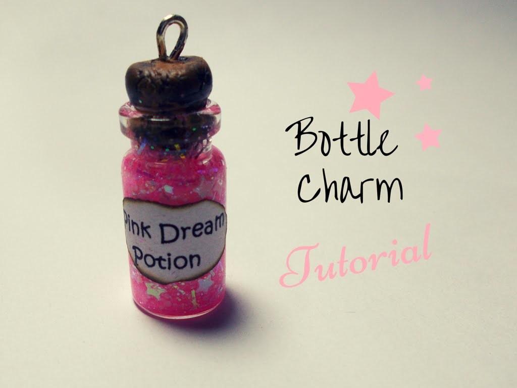 Pink Dream Potion ☆ Bottle Charm TUTORIAL | FairyFashionArt