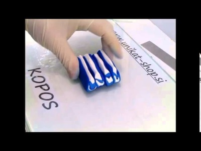 Polymer clay tutorial - how to make and use a polymer clay petal cane