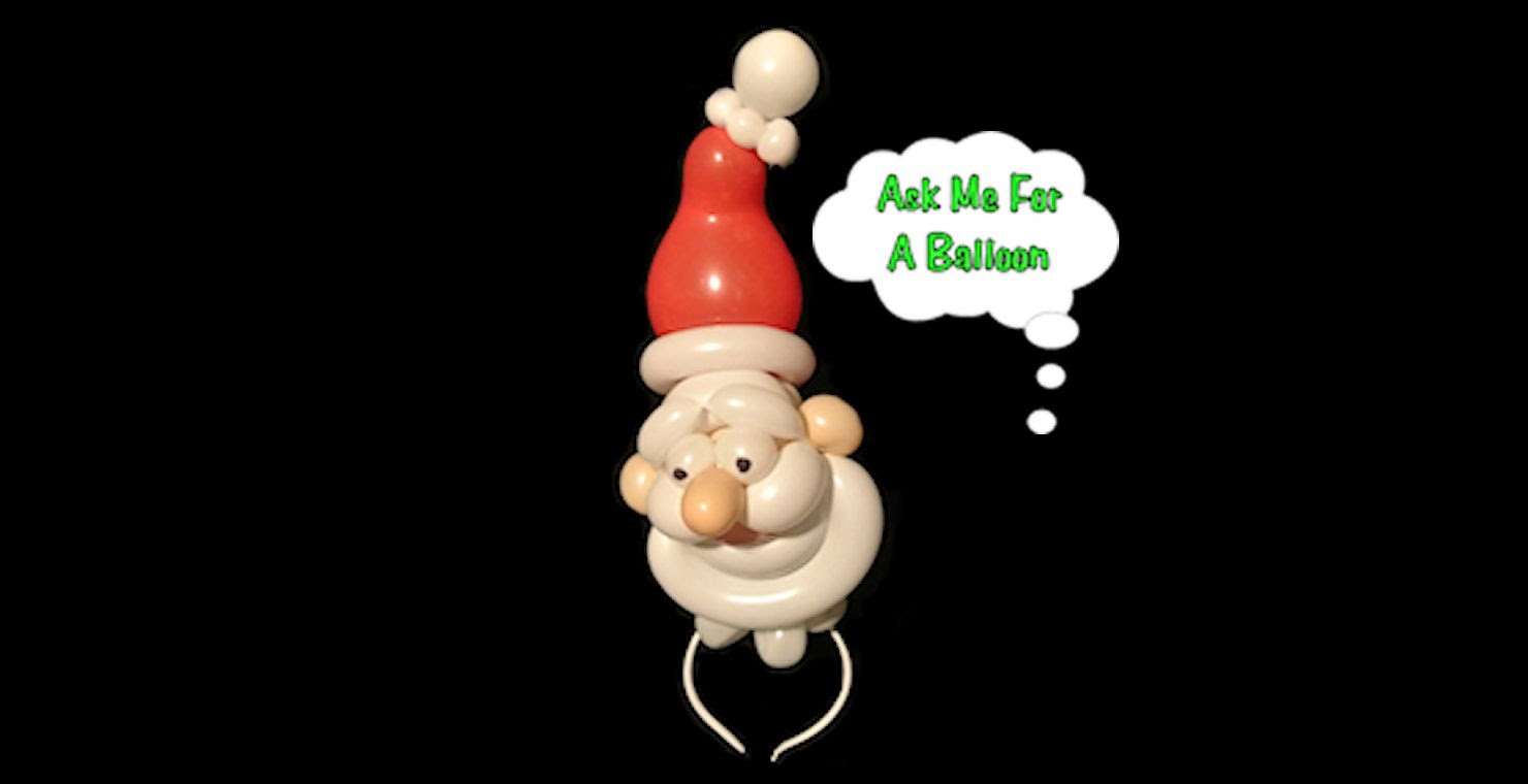 Santa Headband - Balloon Twisting Tutorial Video