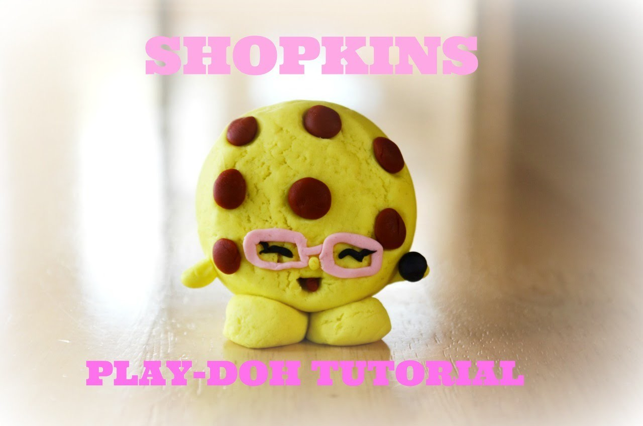 Shopkins Play-Doh Season 3 Candy Cookie Tutorial