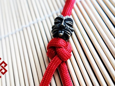 Simple Two Strand Paracord Lanyard Knot Tutorial - Ashley Book of Knots #802