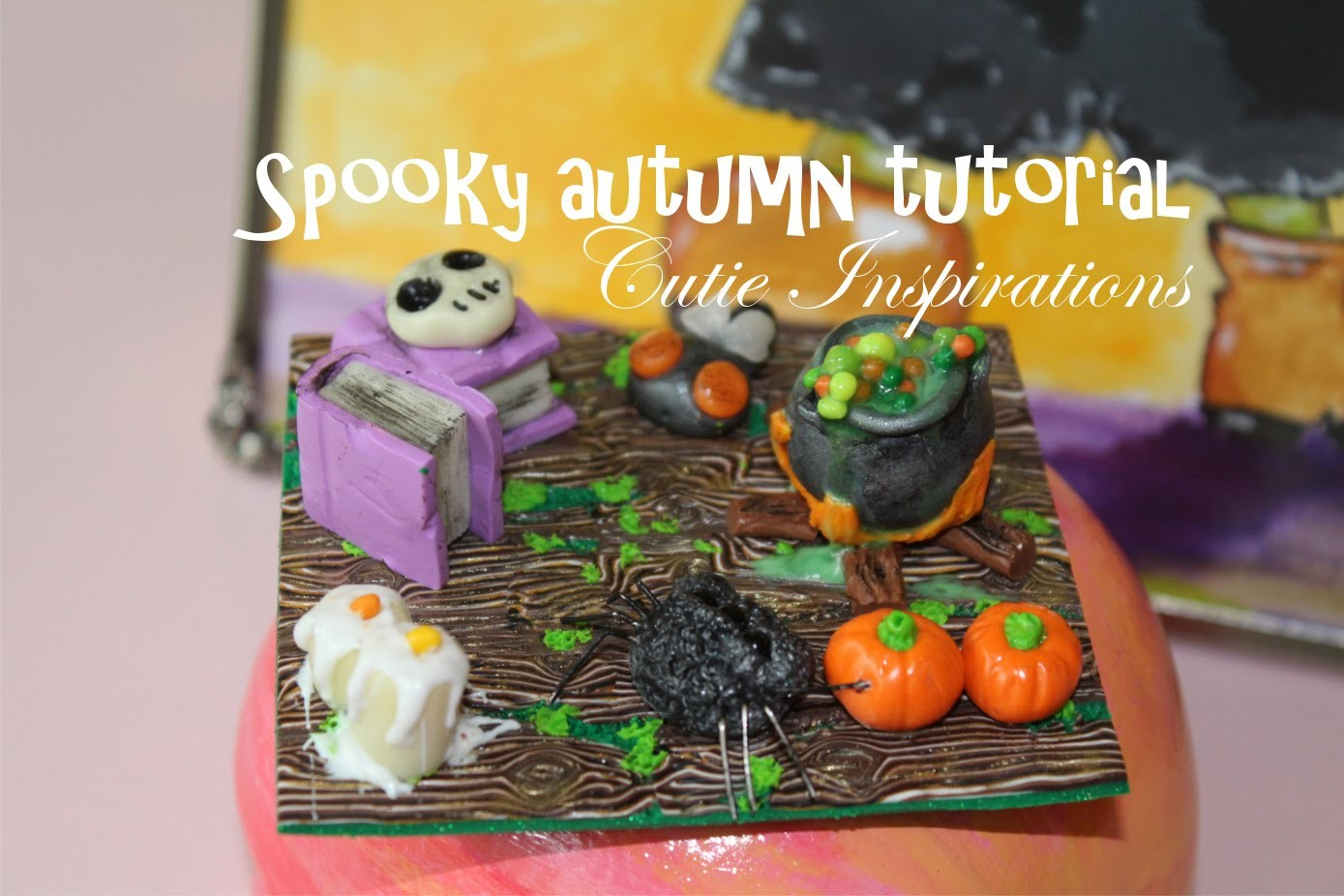 Spooky autumn tutorial