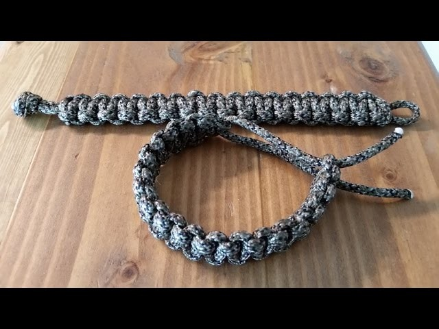 Tactical Survival Paracord Bracelet, Easy DIY
