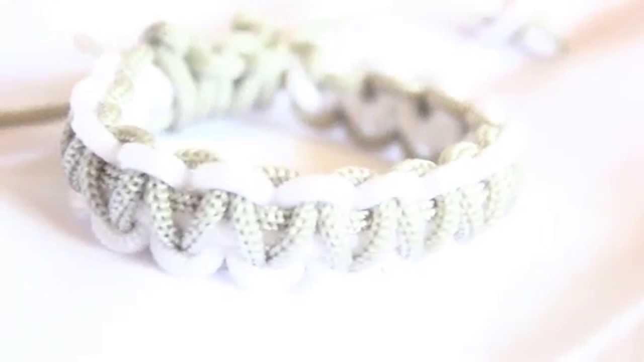 Tutorial : Gelang Makrame. Stackable Square Knot Bracelet
