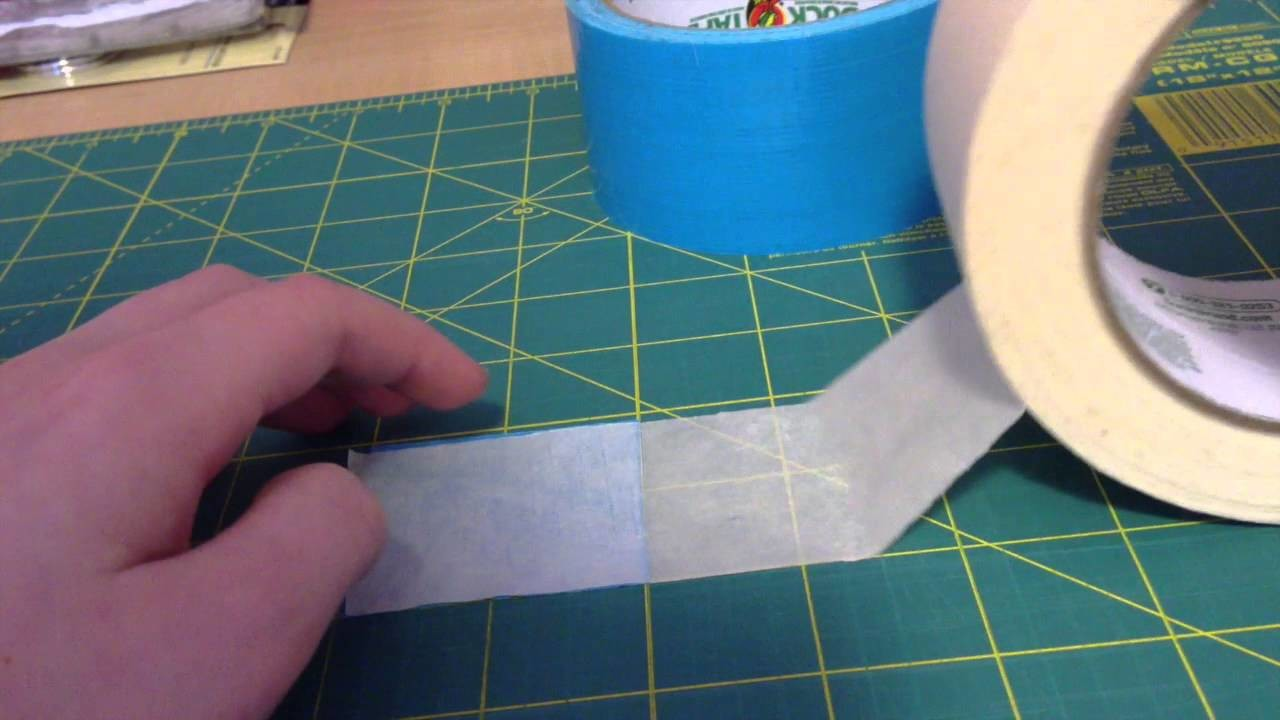 Tutorial: How To Make Pastel Colored Duct Tape