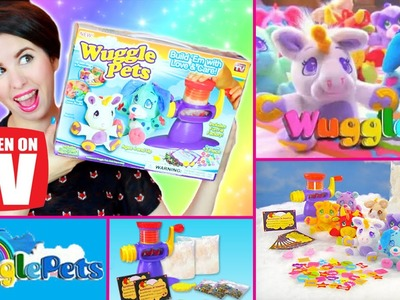 Wuggle Pets Fun Fill Factory: Unboxing, First Impressions & Toy Test Tutorial!