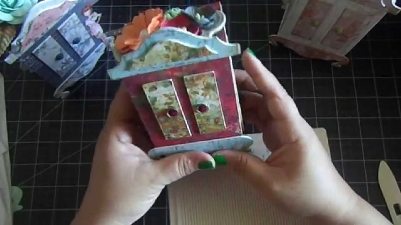 Armoire Pocket Album, File and Favor Box.Tutorial