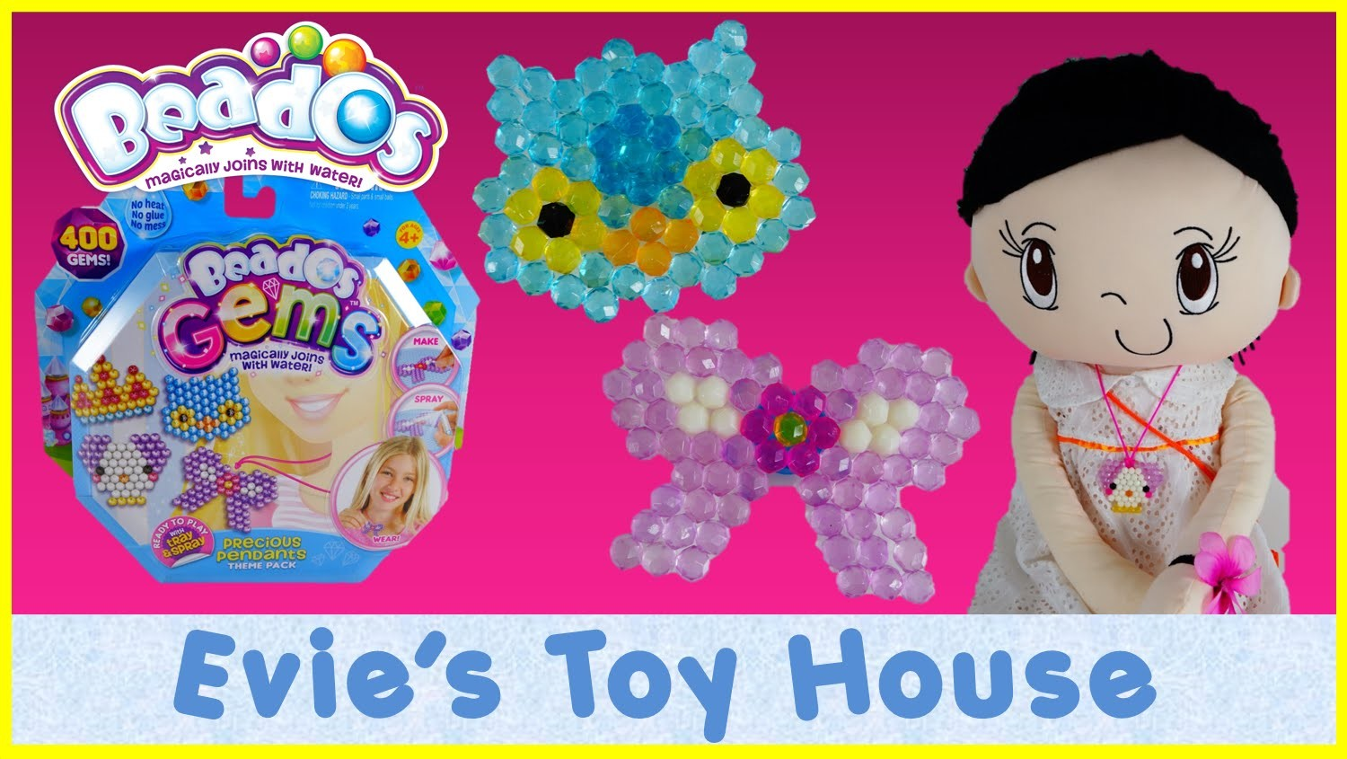 Beados Gems - PRECIOUS PENDANTS Theme Pack Review and Tutorial | Evies Toy House