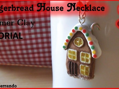 Christmas Advent Calendar: 7th Day - Gingerbread House Necklace Tutorial