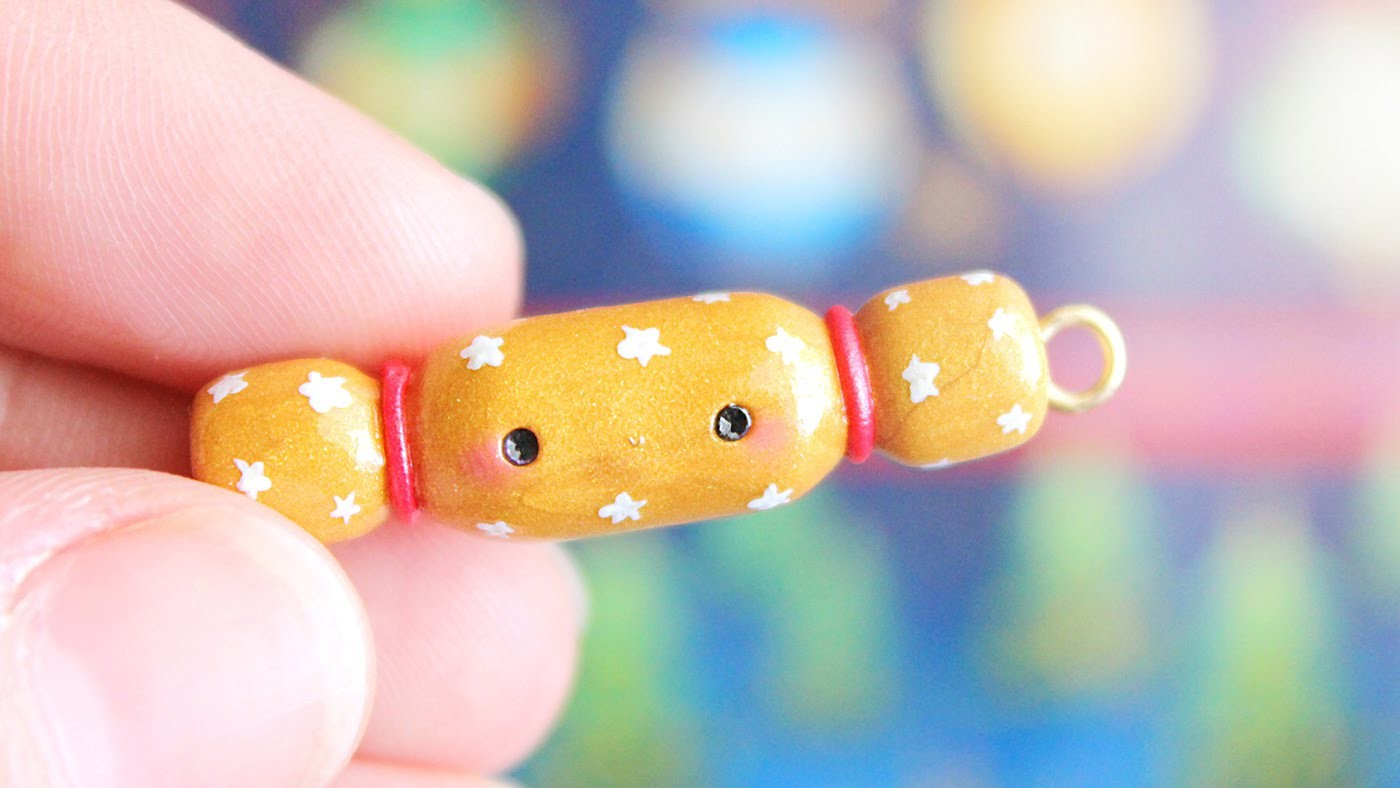 Christmas Cracker Bon Bon │ Polymer Clay Tutorial