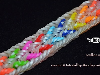 COTILLION MK 1 BRACELET HOOK ONLY DESIGN TUTORIAL