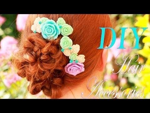 ♥ DIY  Hair accessories♥ MakeupKaty ♥