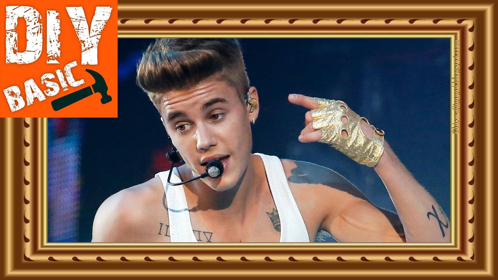 DIY: Picture Framing (Justin Bieber)