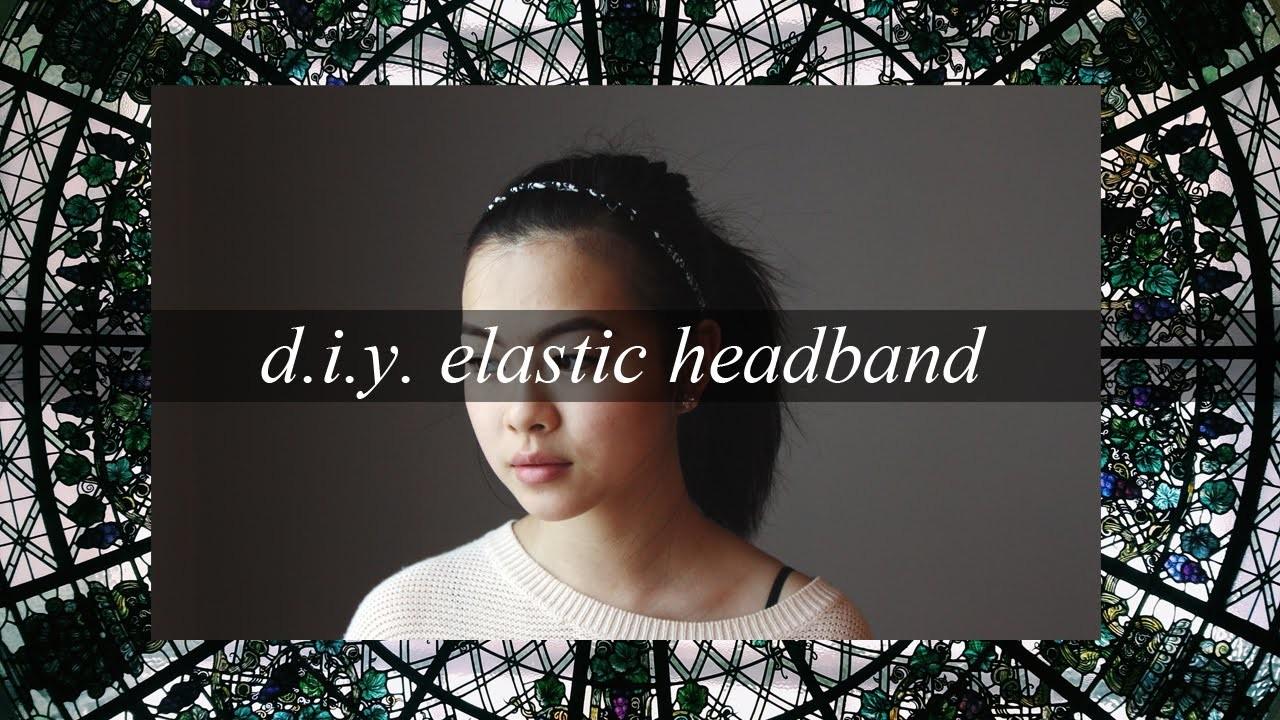 DIY Rope Braid Elastic Headband