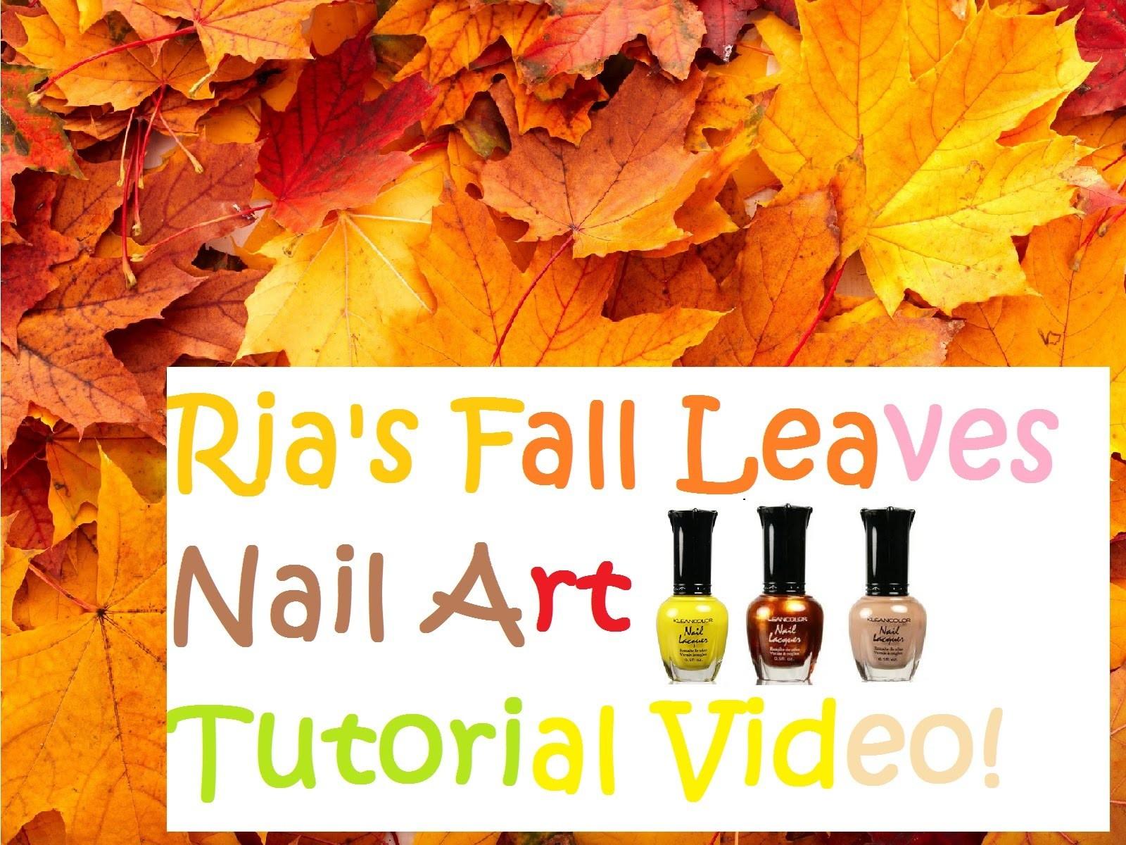 Fall Nail Art Tutorial