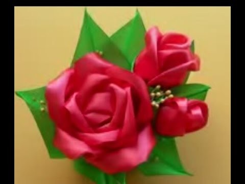 How to make flower Brooch accessories 027 - Tutorial asesoris