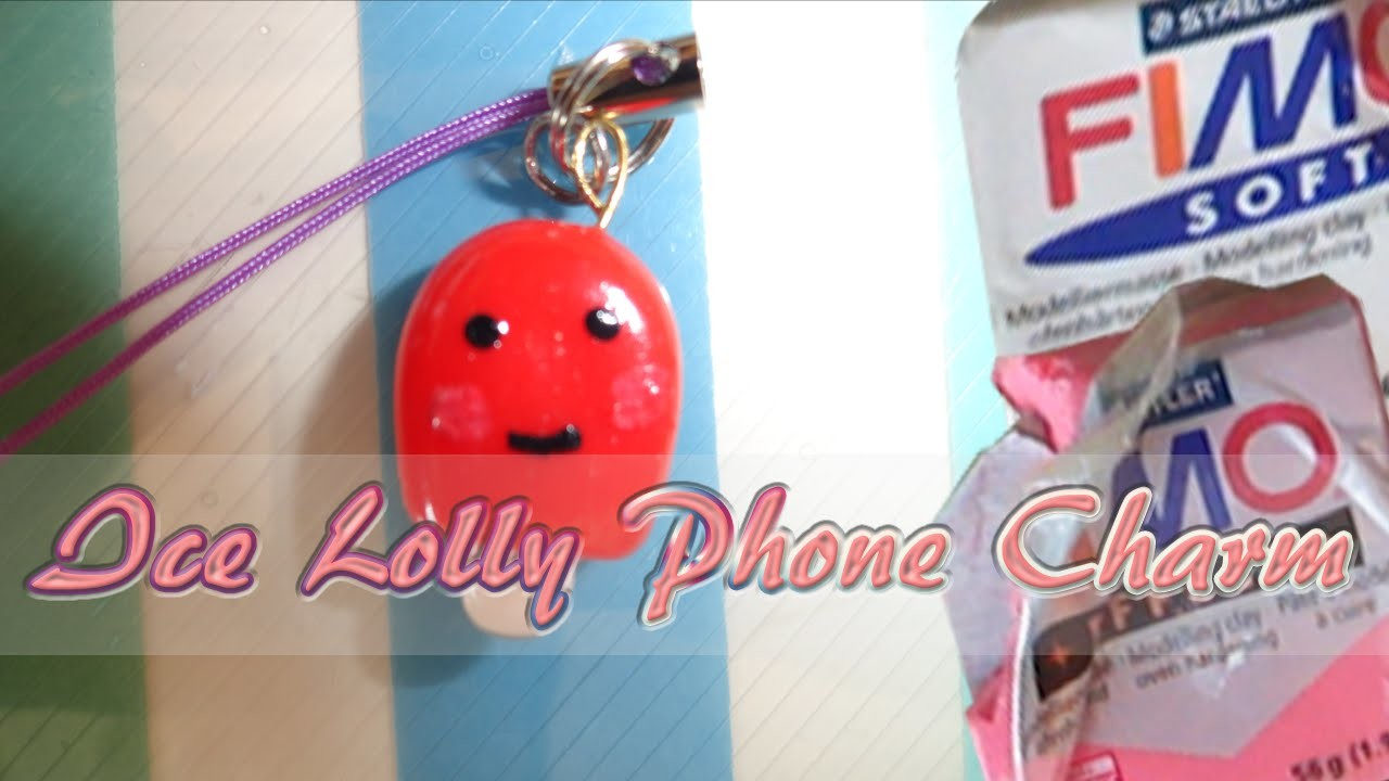Ice Lolly Phone Charm Tutorial