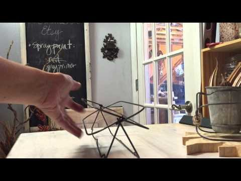 Incredibly Easy Wire Basket Tutorial