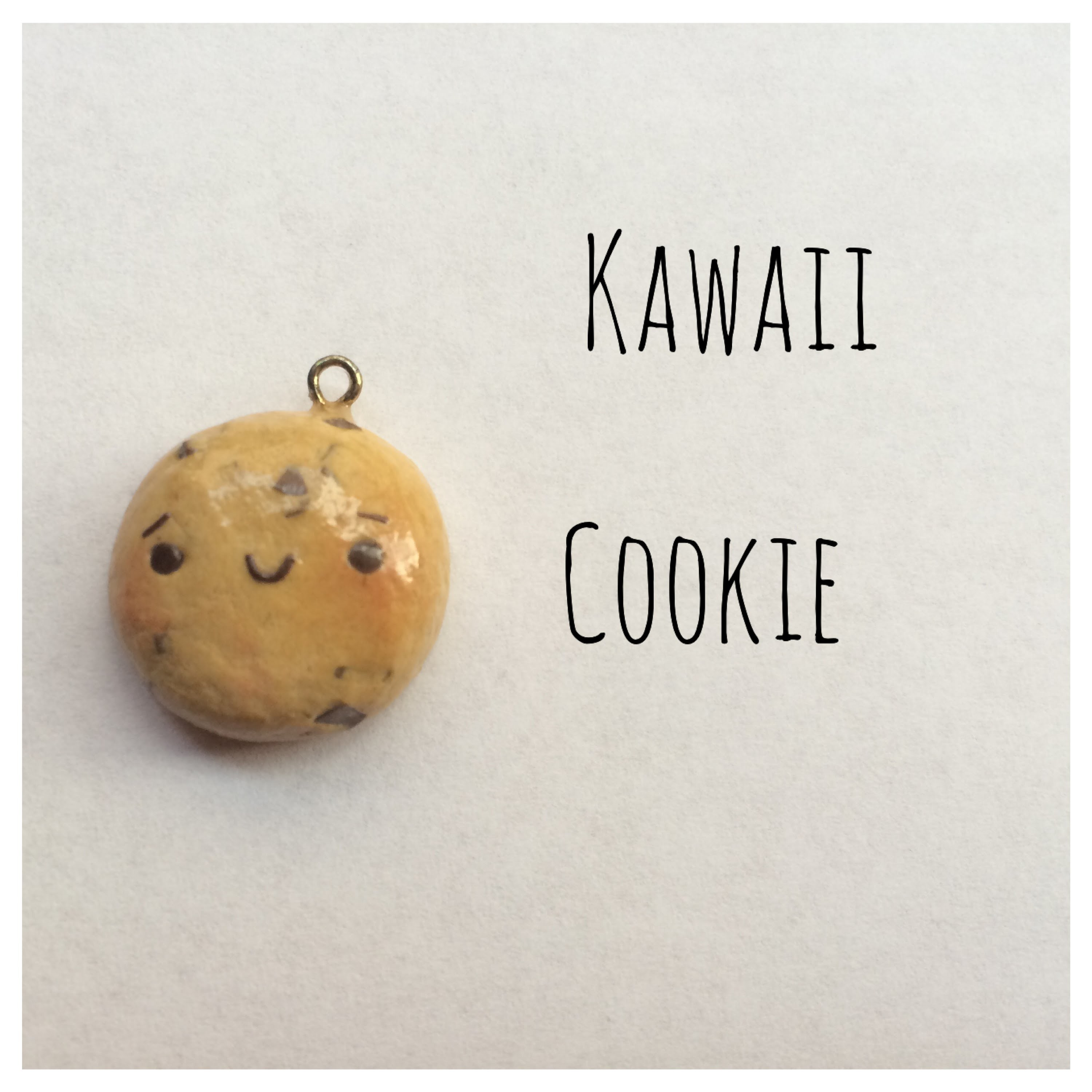 Kawaii Chocolate Chip Cookie Tutorial