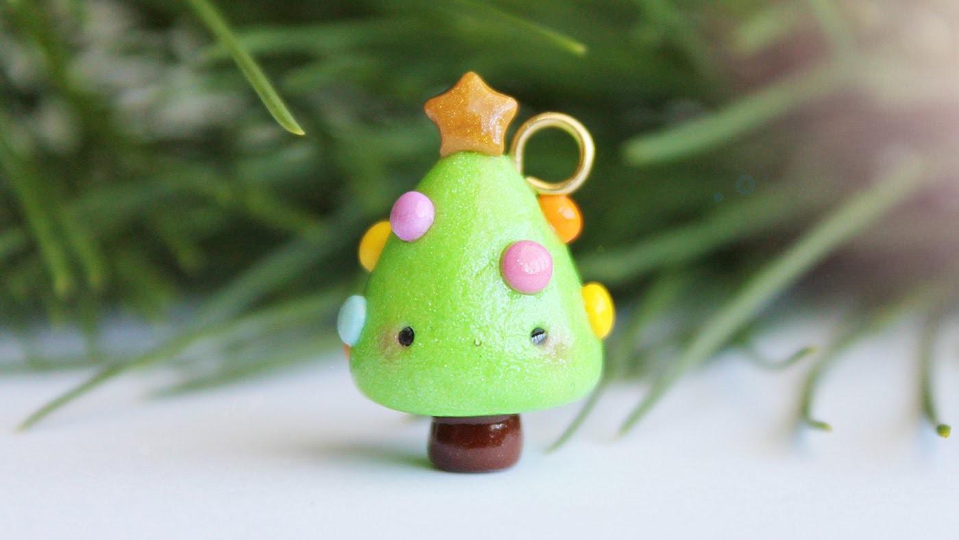 Kawaii Christmas Tree │ Polymer Clay Tutorial