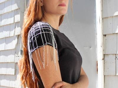 Make A Cool Chain Sleeve T Shirt - DIY  - Guidecentral