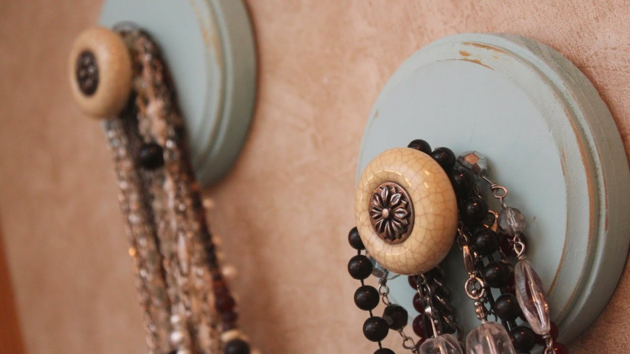 Make a Cool Wooden Necklace Holder - DIY Home - Guidecentral