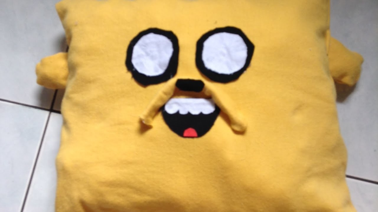 Make a Cute Adventure Time Jake Pillow - DIY Home - Guidecentral
