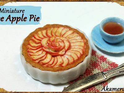 Miniature Rose Apple Pie - Polymer Clay Tutorial