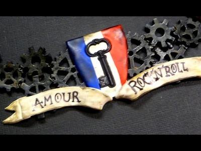 #paris tribute ll YWC & Creomax polymer clay tutorial