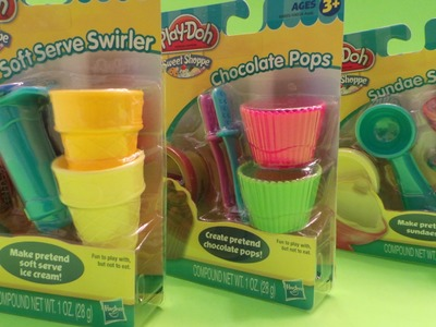 PLAY-DOH SWEET SHOPPE SOFT SERVE SWIRLER UNBOXING AND TUTORIAL