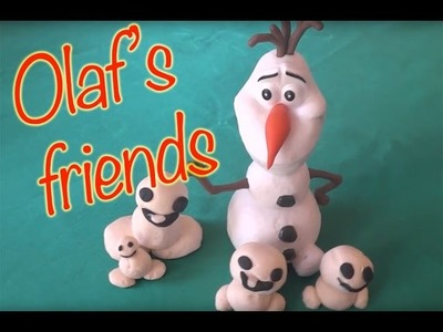 Play Doh Videos Frozen's Anna and Elsa's Friend Olaf Gets New DIY Play Doh Friends