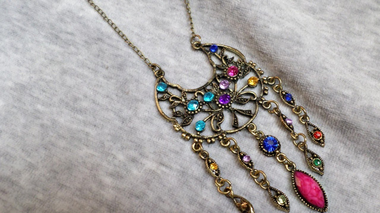Repurpose a Broken Earring into a Beautiful Necklace - DIY Style - Guidecentral