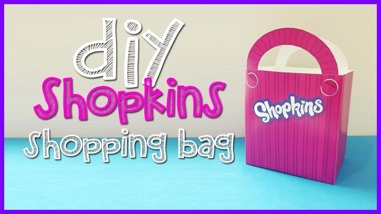 Shopkins Shopping Bag - DIY